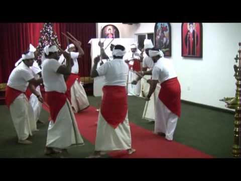 Margam Kali (men) By St. Mary's Christian Corporation, San Fernando Valley, Los Angeles video