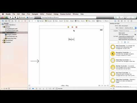 iOS Development with Swift Tutorial - 6 - Creating a Simple Design