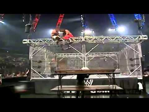 Shawn Michaels Vs. Triple H - Armageddon 2002 highlights HD