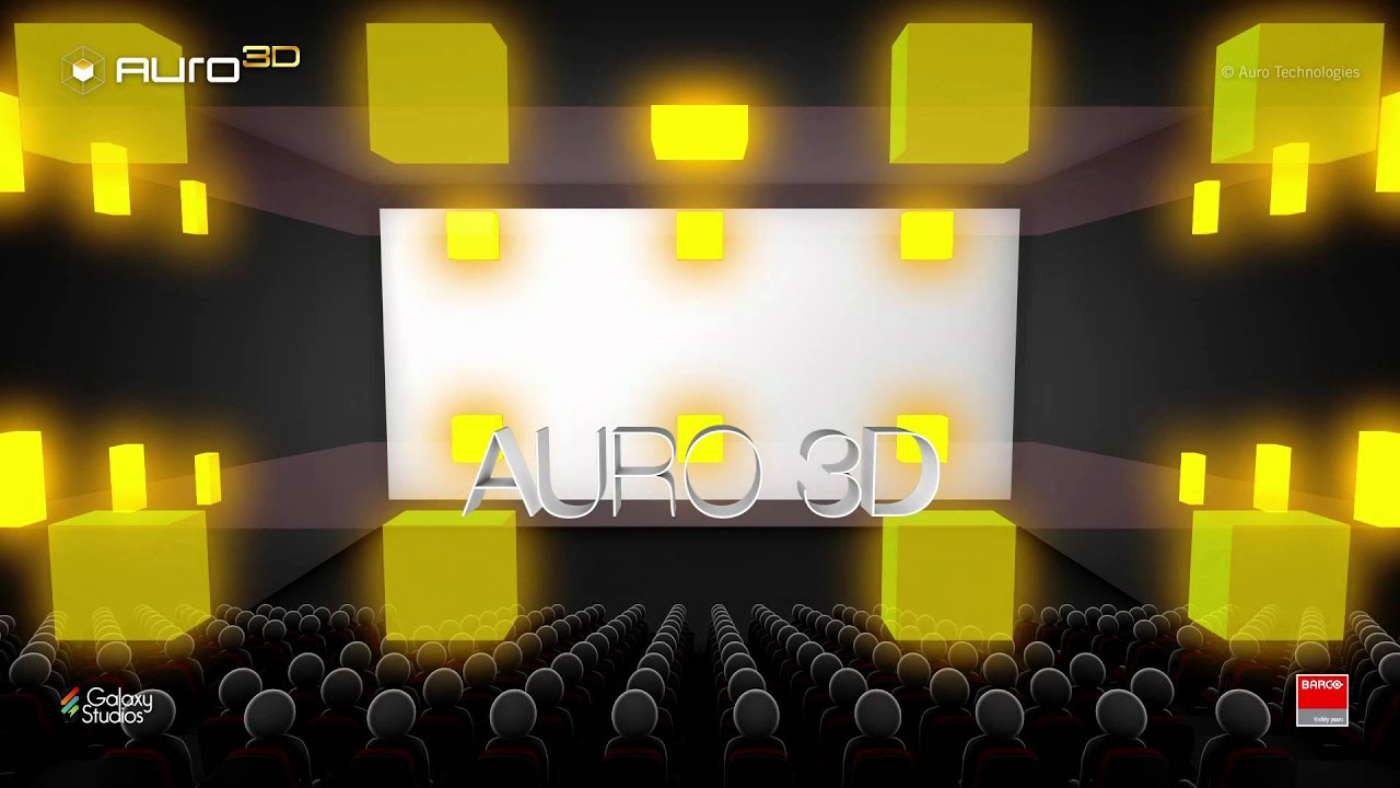 Auro 3d Barco S 3d Sound Technology For The Digital