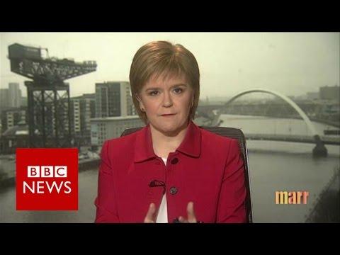 Sturgeon: 'EU vote could trigger second referendum' BBC News