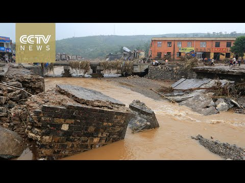 Four officials in flood-stricken Hebei Province suspended for dereliction of duty