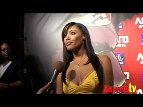 K.D. AUBERT Interview at AFRO SAMURAI Launch Party Arrivals