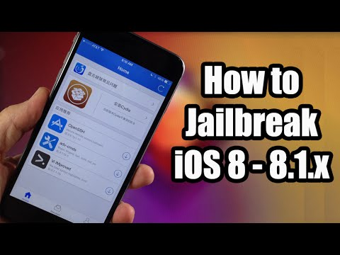 How To Jailbreak iOS 8 Untethered With Pangu - iPhone. iPad. iPod