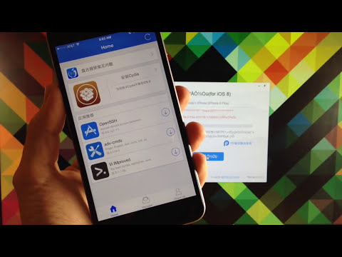 How To Jailbreak iOS 8 Untethered With Pangu - iPhone, iPad, iPod