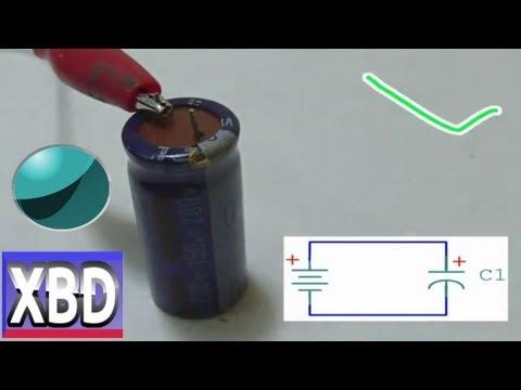 simbologia electronica analogica capacitores o condensadores XBD