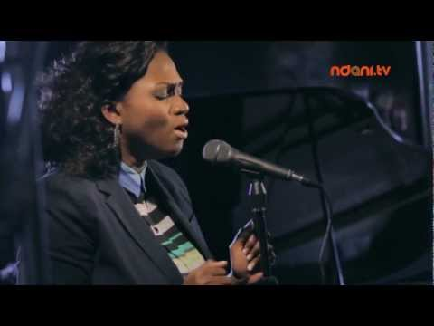 Waje - delivers a stella rendition of her new single 'I Wish' on Ndani Session