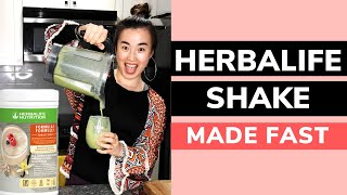 How to make a HERBALIFE Healthy Meal Shake FAST