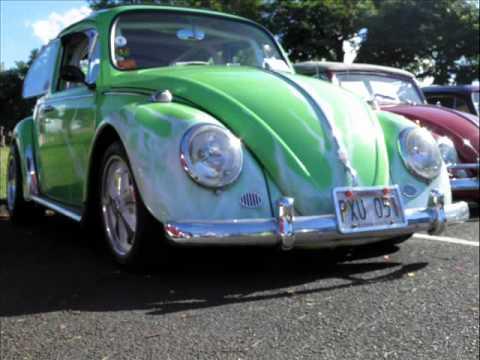vintage volkswagen club  hawaii bugs   park  youtube