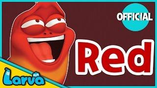 LARVA - Funny Cartoon | MEET RED | 2016 Full Movie Cartoon | Cartoons For Children | LARVA Official