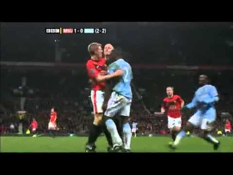 Darren Fletcher Vs Micah Richards