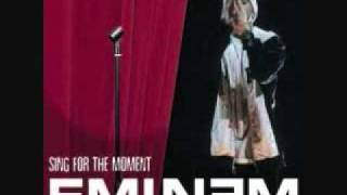 Eminem Sing for the Moment Lyrics [Explicit]