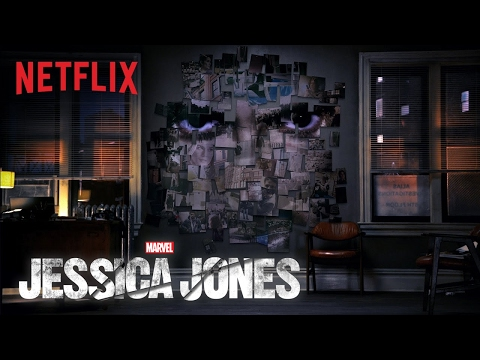 The New 'Jessica Jones' Trailer Features a Creepy Voiceover by David Tennant