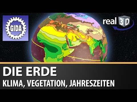 GIDA - Die Erde - Klima, Vegetation, Jahreszeiten - real3D Software ...