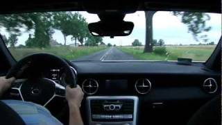 New Mercedes-Benz SLK 250 CGI (R172) - Driving on Tour