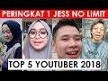 5 Youtuber Indonesia Dengan Peningkatan Subscriber Tercepat 2018