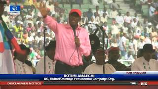 General Elections: Amaechi Vows To Battle Wike 'To The Last'