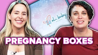 Pregnant Women Review Pregnancy Subscription Boxes
