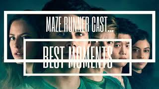 Maze Runner Cast || BEST & FUNNIEST MOMENTS!!!!