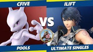 Smash Ultimate Tournament - cFive (Mewtwo) Vs. iLift (Chrom, Pichu) Valhalla II SSBU Pools