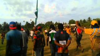 Only in PNG Towns   Drunks Clashes after Cultural Show 2015
