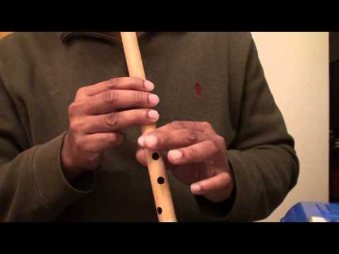Hindi song on flute - Kya Hua Tera Wada - Travails with my flute...