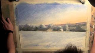 Архитектор, дизайнер, художник Андрей Волков. Pastel Speed Painting