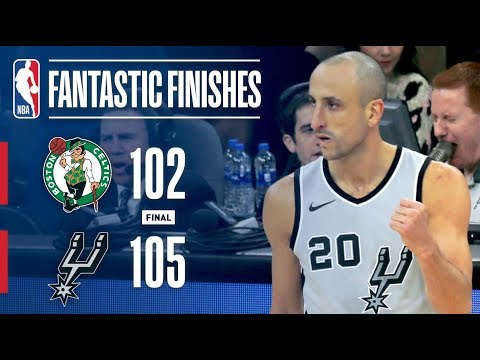 The Celtics and Spurs Come Down to the Wire! | December 8, 2017