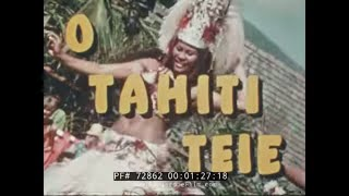 """O TAHITI TELE"" TAHITI / FRENCH POLYNESIA TRAVELOGUE 72862  from PeriscopeFilm"