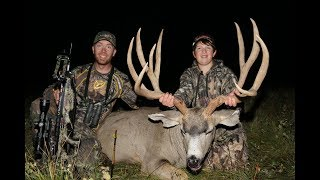 "WORLD RECORD MONSTER CROSSBOW MULE DEER BY 13 YEAR OLD! 200""+ 
