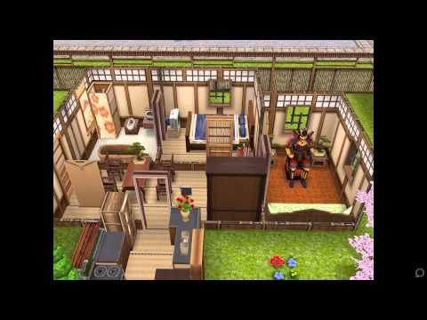 The Sims FreePlay- Japanese Retreat