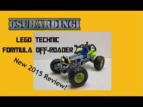 LEGO Technic Formula Off-Roader Review. Set 42037