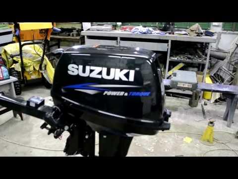 видео лодочного мотора сузуки 9.9