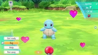 Where To Find Squirtle In Pokemon Let's Go Pikachu & Eevee