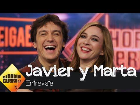 Javier Veiga nos cuenta cómo es Marta Hazas cuando se enfada - El hormiguero 3.0