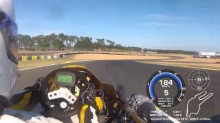 Superkart - Le Mans 2012 -  CIK-FIA European Championship Race 2