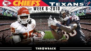 Aerial Assault Versus Ground & Pound! (Chiefs vs.Texans 2010, Week 6)