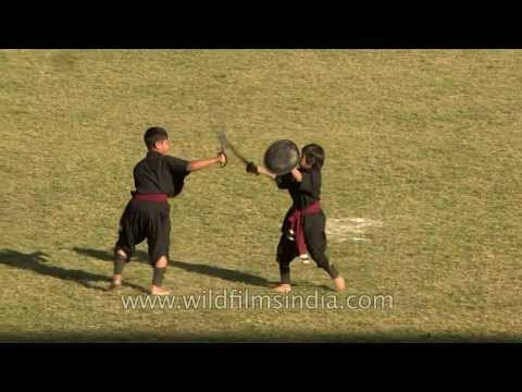 Martial arts from north-east India: Manipur's Thang ta