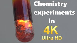 Chemistry experiments in 4K Ultra HD