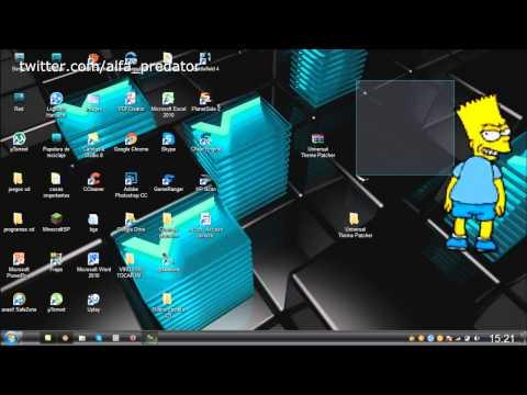 Como parchear Windows 7 y Instalar una Tema :Tutorial Español HD