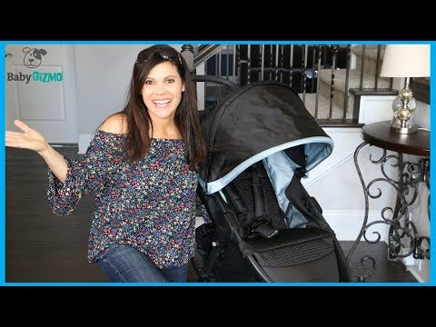 Britax B-Free Lightweight Stroller Review by Baby Gizmo