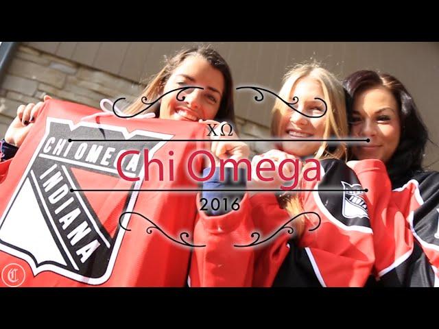Chi Omega Indiana University 2016