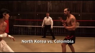 Undisputed 3 - Fifth Fight Scene - North Korea Vs Colombia