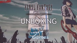Final Fantasy TCG: Final Fantasy XIII (13) Starter Deck Unboxing
