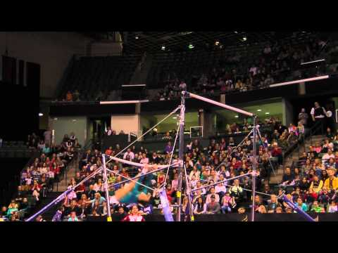 Christine Lee - Uneven Bars Finals - 2012 Kellogg&#039;s Pacific Rim Championships - 4th