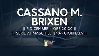 Serie A1M [13^]: Cassano Magnago - Brixen 34-33