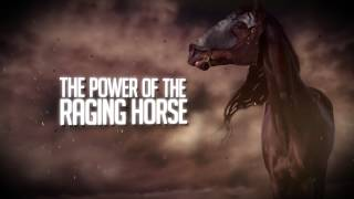 DRAGONFIRE OF FIRE - The Power of the Raging Horse [LYRIC VIDEO]