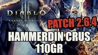 Diablo 3 [Patch 2.6.4 PTR] - Hammerdin 110GR