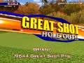 Golden Tee Great Shot on Sunny Wood!