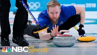 Team USA defeats Sweden 10-7 for first curling gold